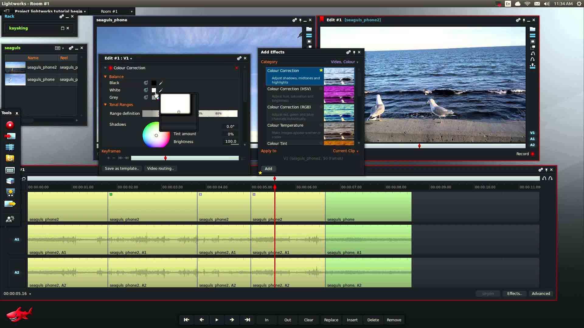 lightworks adalah aplikasi edit video pc